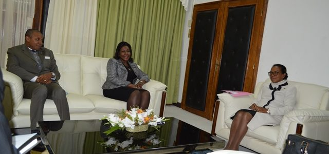 VISITE DE COURTOISIE DE LA REPRÉSENTANTE DU PNUD A L'ASSEMBLÉE NATIONALE DE MADAGASCAR