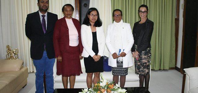 VISITE DE L'EISA A L'ASSEMBLÉE NATIONALE DE MADAGASCAR