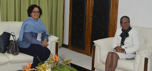 VISITE DE COURTOISIE DE LA PRÉSIDENTE DU COMITÉ POUR LA SAUVEGARDE DE L'INTÉGRITÉ AU NIVEAU DE L'ASSEMBLÉE NATIONALE DE MADAGASCAR