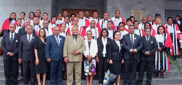 Haute Cour de Justice: Prestation de serment des représentants de l'Assemblée nationale