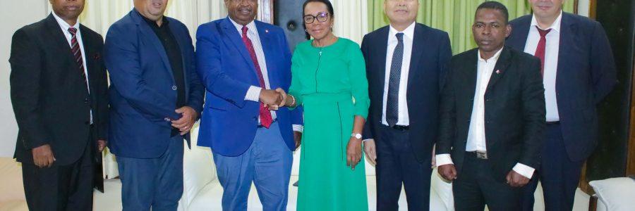 Le député Mansour KAMARDINE à l'Assemblée nationale : la Mayotte déterminée à renforcer les relations avec Madagascar