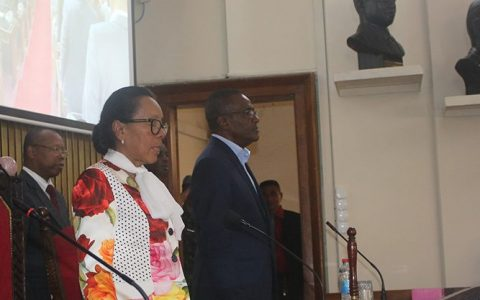 Clôture de la première session extraordinaire à l'Assemblée nationale