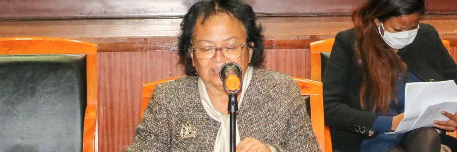 Rapport d'activités de la Commission Nationale Indépendante des Droits de l'Homme (CNIDH)