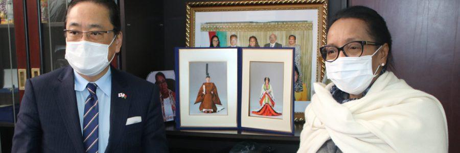 Visite de courtoisie de l'Ambassadeur du Japon : le groupe d'amitié parlementaire au menu