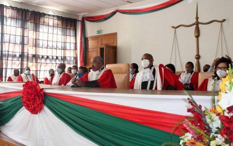 Prestation de serment du Représentant de l'Assemblée nationale à la Commission Electoral Nationale Indépendante