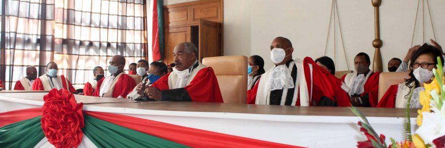 Prestation de serment du Représentant de l'Assemblée nationale à la Commission Electorale Nationale Indépendante