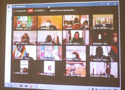 Madagascar à la 47è session du Forum parlementaire de la SADC : la responsabilisation des parlements face à la Covid-19
