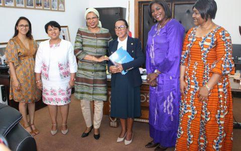 Création du réseau des femmes leaders africaines