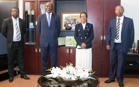 Le Coordonnateur Résident des Nations Unies chez la Présidente de l'Assemblée nationale : Madagascar a sa part dans le programme de développement