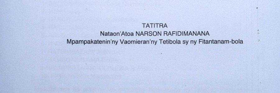 Ratification de l'accord de prêt relatif au projet PRODUIR