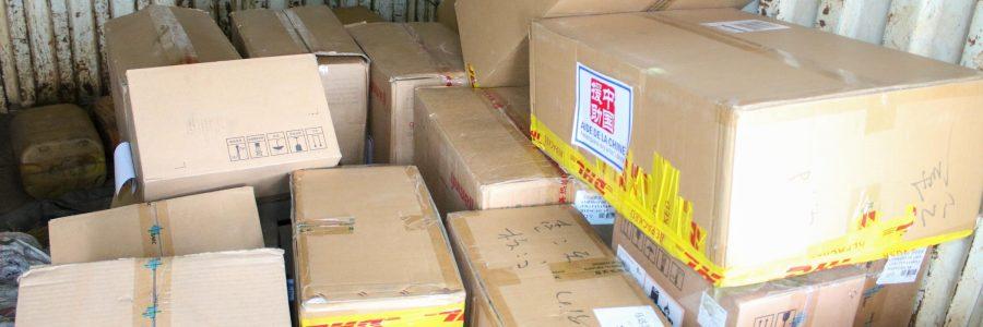 Remise de dons par la République Populaire de Chine