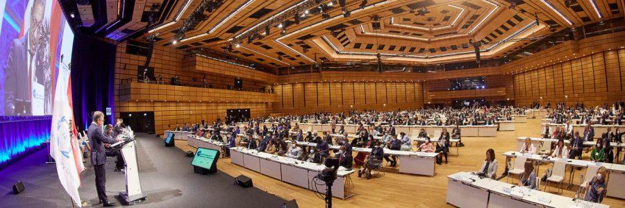À Vienne (Autriche), l'APF avec l'UIP et les parlements du monde unis contre le terrorisme, la radicalisation et les discours de haine